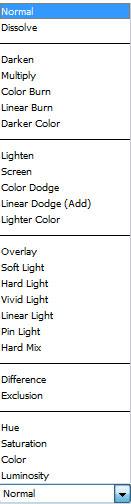 blend modes Blend Modes