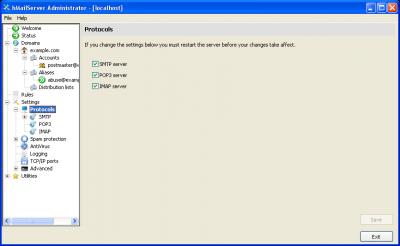 Wampserver, hmailserver with spamassasin, filezilla server - ontwerps
