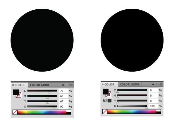 Blackest Black Cmyk Is C 75 M 68 Y 67 K 90 Ontwerps