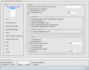 bigdump2 300x236 Here are three methods for importing large SQL files